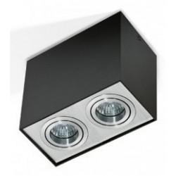 Lampa ELOY 2 GM4204Black/ Aluminium metal / Azzardo