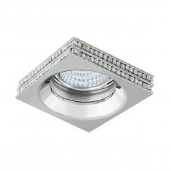 Lampa EVA S NC1519SQ-CH Chrome / aluminium Azzardo