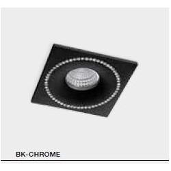 Lampa SIMON S NC1767SQ-BK/CH Black / chrome IP Azzardo