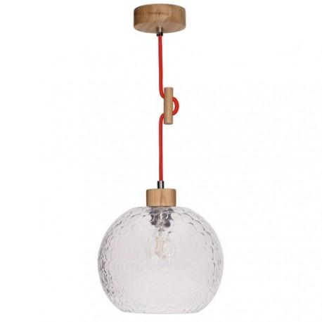SVEA 1357674 DREWNIANA LAMPA WISZĄCA SPOTLIGHT