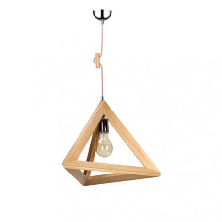TRIGONON 1171570 DREWNIANA LAMPA WISZĄCA SPOTLIGHT