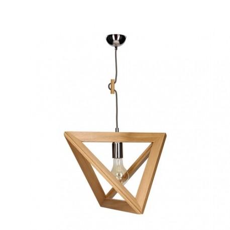 TRIGONON 1271170 DREWNIANA LAMPA WISZĄCA SPOTLIGHT