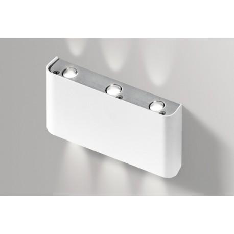 Lampa GINNO 3 GM1300White/ Aluminium metal / Azzardo
