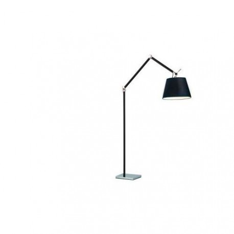 Lampa ZYTA FLOOR BLACK ML2300-L BK black/black/chrome Azzardo