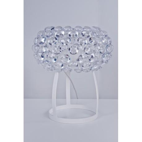 Lampa ACRYLIO table MA 026M clear/white metal/acryl/ Azzardo