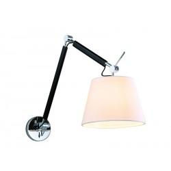 Lampa ZYTA WALL S WHITE MB2300-S WH white/black/chrome Azzardo