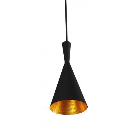 Lampa VITA BLACK/ GOLD pendant LP6005 BK/GO black/gold aluminiu Azzardo