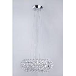 Lampa ACRYLIO 70 pendant V 026-700 chrome/clear/ white me Azzardo
