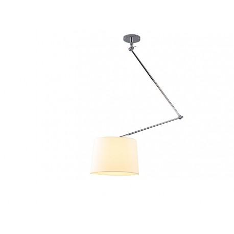 Lampa ADAM S WHITE PENDANT MD2299-S white/apricot Metal/fa Azzardo