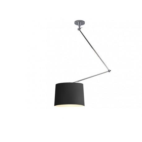 Lampa ADAM S BLACK PENDANT MD2299-S black/apricot Metal/fa Azzardo