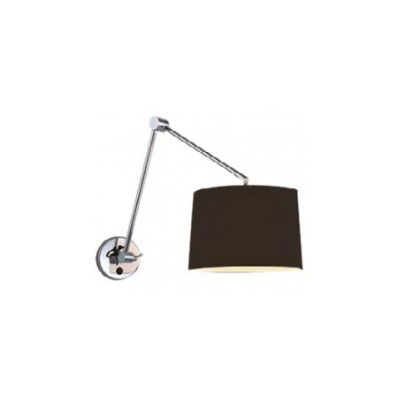Lampa ADAM WALL S BLACK MB2299-S black/apricot Metal/fab Azzardo
