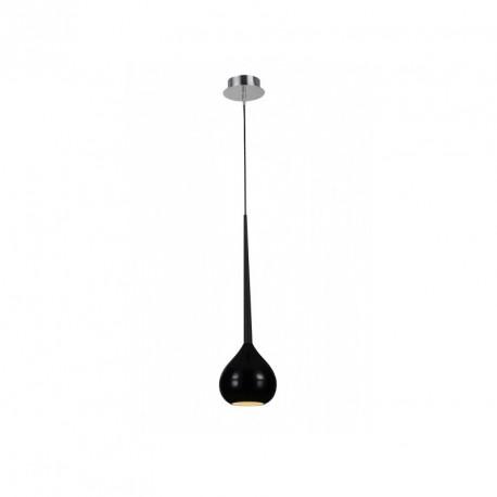 Lampa AGA-1 pendant MD1289-1 black /black metal / gl Azzardo