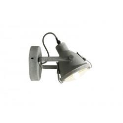 Lampa TOBRUK CONCRETE WALL 5151L CO concreteMetal/glass Azzardo