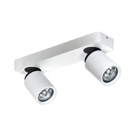 Lampa TOMI 2 top/wall FH31312A11 white/gray metal/ alu Azzardo