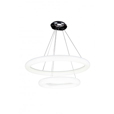 Lampa ANGEL 2 pendant 2719/740+460 white acry Azzardo