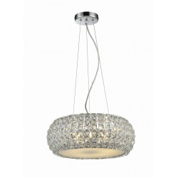 Lampa SOPHIA 3 pendant 5024-3P crystal/metal/ chrome Azzardo