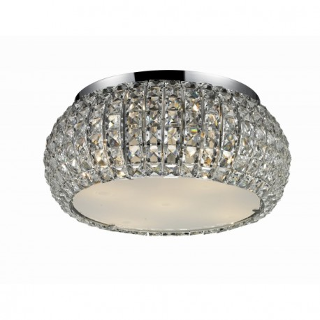 Lampa SOPHIA 3 top 5024-3X crystal/metal/ chrome Azzardo