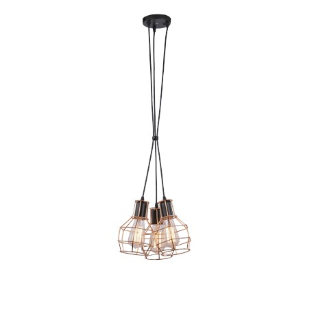 Lampa CARRON 3 MD50148-3 copper Metal Azzardo