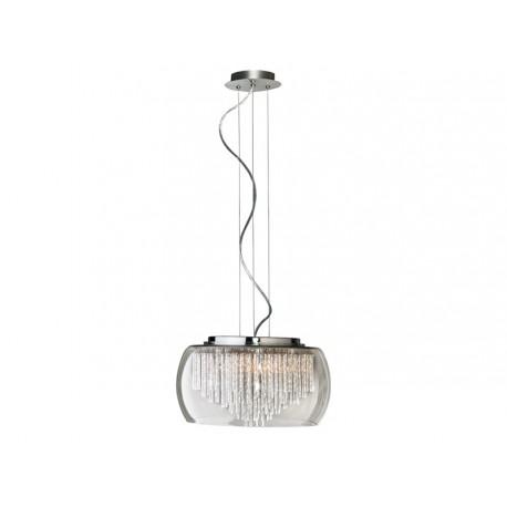 Lampa REGO 40 pendant LC/LP 3957-5PX metal/chrome/ al Azzardo