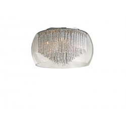Lampa REGO 40 top LC/LP 3957-5PX metal/chrome/ alu Azzardo