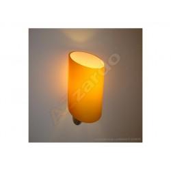 Lampa ROSA wall MB 311-1SO orange metal chrome Azzardo