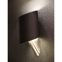 Lampa ROSA wall MB 311-1BL black metal/chrome Azzardo