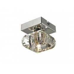 Lampa RUBIC 1 top 1798-1X chrome metal/glass Azzardo