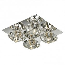 Lampa RUBIC 4 top 1798-4X chrome metal/glass Azzardo