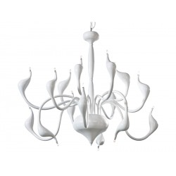 Lampa SNAKE 2 pendant MP 6230-15 white metal Azzardo