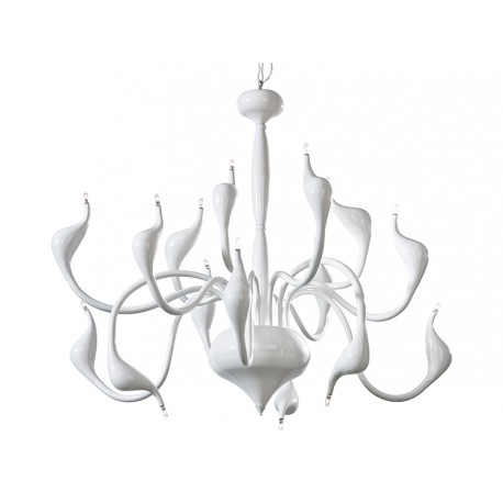 Lampa SNAKE 2 pendant MP 6230-15 whitemetal Azzardo