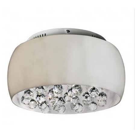 Lampa QUINCE 40 top LC1056-5 opal glass/ metal/chrom Azzardo