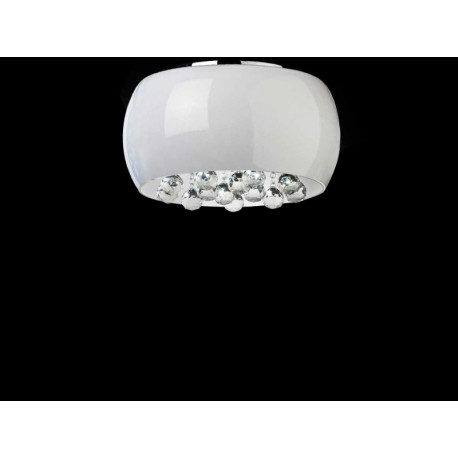 Lampa QUINCE 50 top LC1056-6 opal glass/ metal/chrom Azzardo
