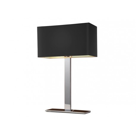 Lampa MARTENS TABLE BLACK MT2251-S BK black Metal/fabri Azzardo