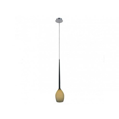 Lampa IZZA 1 pendant MD 1288-1M olive metal/glass Azzardo
