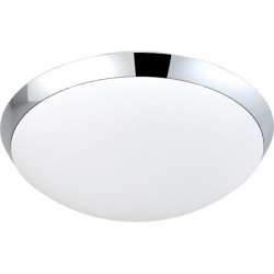 Lampa RITA wall LC3207 chrome/white opal glass/ Azzardo
