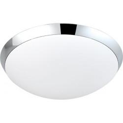 Lampa RITA wall LC3207 chrome/white opal glass/ Azzardo